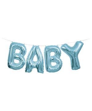 Baloane Folie Ghirlanda Baby Bleu