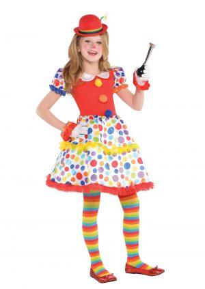 Costum Clown Circ 8-10 Ani