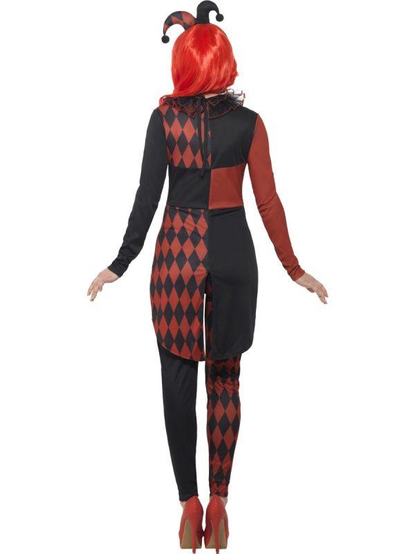 Costum Arlechin Sinistru Dama