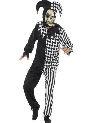 Costum Arlechin Schelet Diabolic