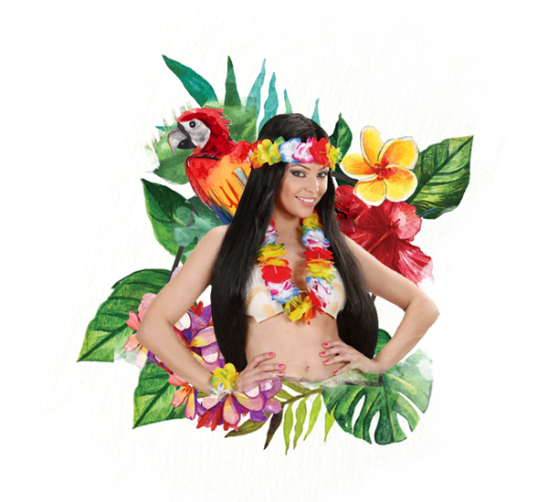 Costume Hawaii