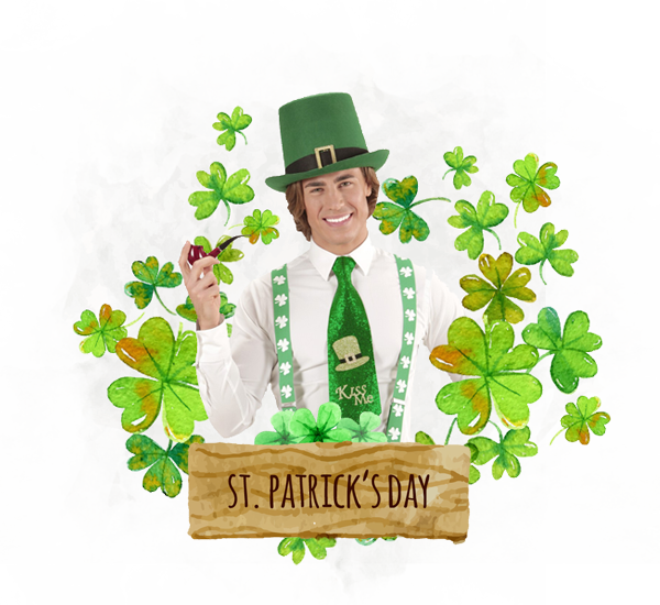 Costume St. Patrick Day`s