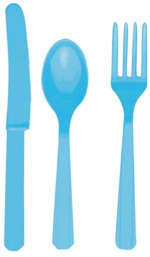 Set Tacamuri Bleu 24 Buc