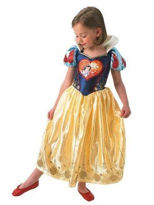 Costum Alba Ca Zapada Loveheart