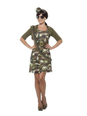 Costum Army Cadet Dama