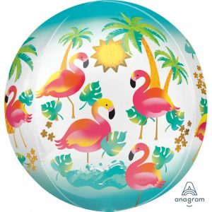 Balon Folie Flamingo 38x40 cm