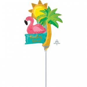 Balon Folie Flamingo 23 cm