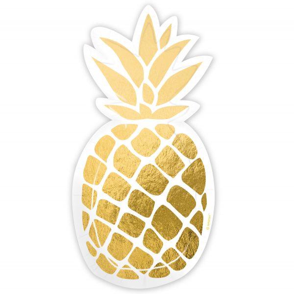 Farfurii Ananas 18 cm