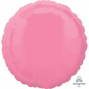 Balon Folie Cerc Roz 43 cm