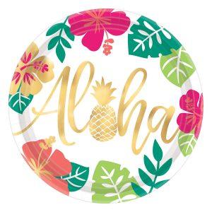 Farfurii Petrecere Aloha 26 cm