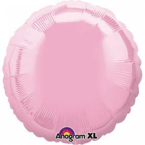 Balon Folie Perla Roz 43 cm
