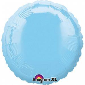 Balon Folie Cerc Albastru 43 cm