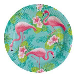 Farfurii Flamingo Petrecere 23 cm