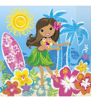 Servetele Petrecere Hawaii 17x17 cm