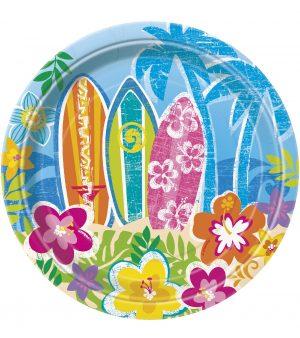 Farfurii Petrecere Hawaii 17 cm