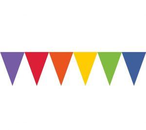 Banner Stegulete Multicolor 450 cm