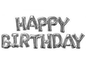 Baloane Folie Happy Birthday