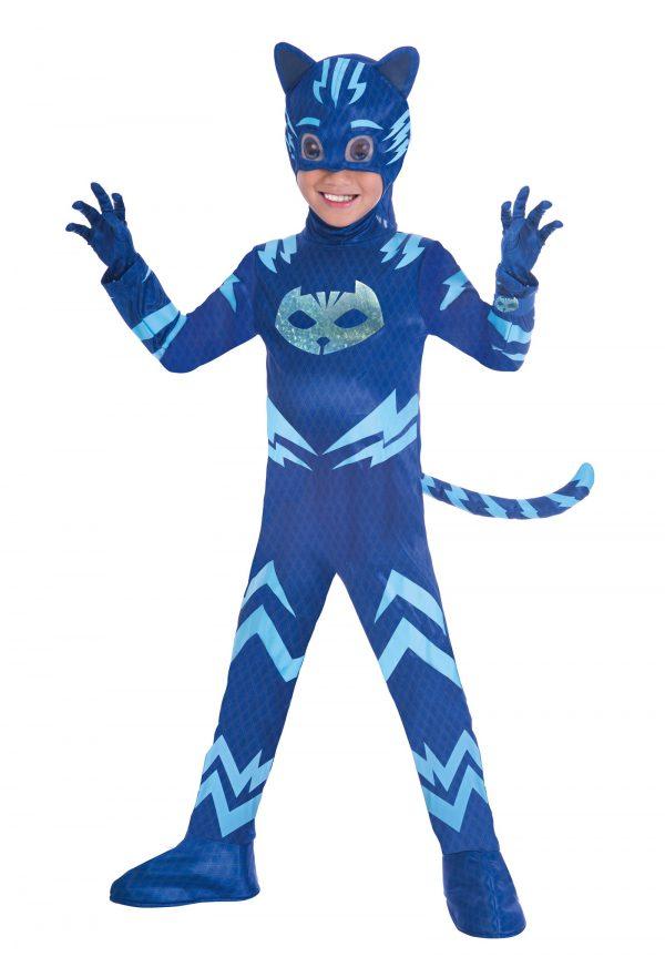 Costum Copii PJ Masks Pisoi 3 4 Ani