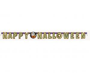 Banner Ghirlanda Happy Halloween