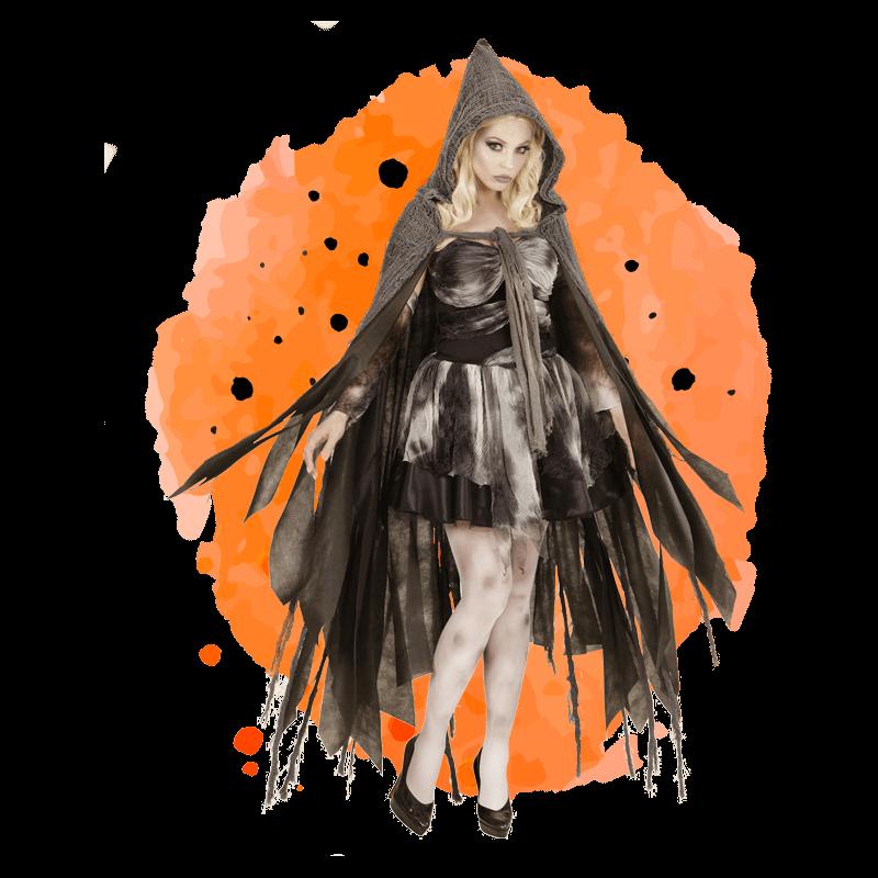 Pelerine Halloween