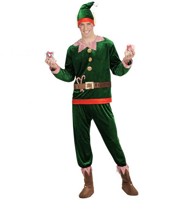 Costum Elf Craciun Barbati