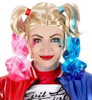 Peruca Harley Quinn Halloween