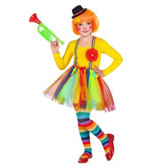 Costum Clown 4 Piese 4-5 Ani