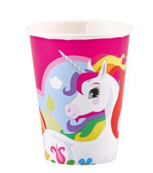 Pahare Unicorn 8 Buc