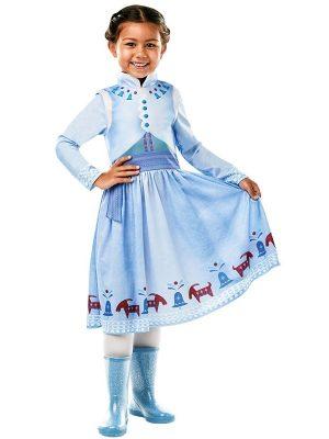 Costum Disney Anna Editia Aventura Lui Olaf