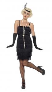 Costum Flapper Negru