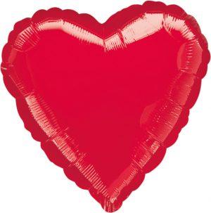 Balon Inima Rosie 45 cm