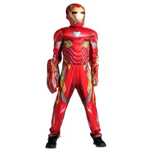 Costum Iron Man Copii 3-4 Ani