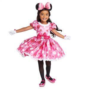 Costum Minnie Roz 2-3 Ani