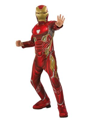 Costum Iron Man Deluxe