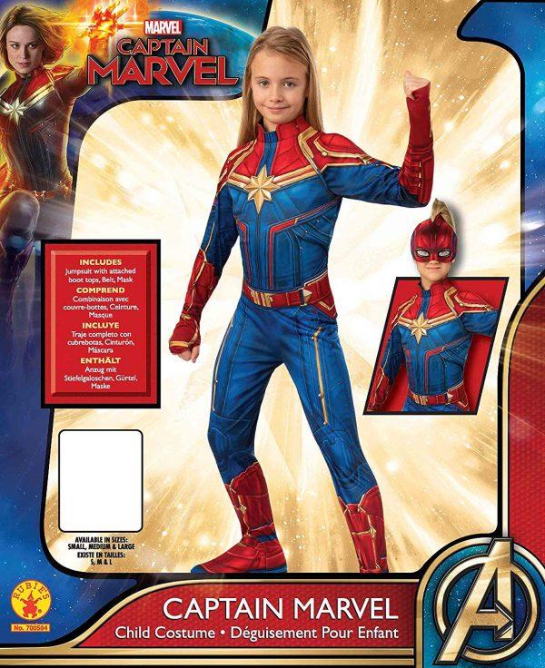 Costum Captain Marvel