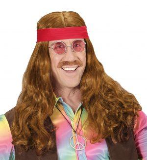 Peruca Hippie Barbati