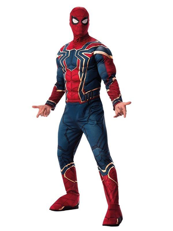 Costum Spiderman Adult Iron