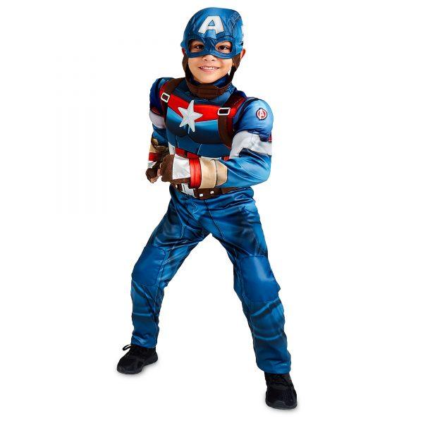 Costum Capitan America 3 4 Ani